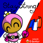 Stay Strong France by G-Bomber