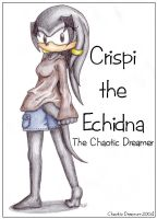 Crispi the Echidna by chaoticdreamer