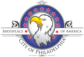 City of Philadelphia Logo by luvataciousskull