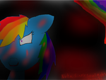 rainbow factory dash.. [gore warning] by pikachugirl9