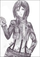 Mikasa Ackerman, Born to be Cool ~ by CaptainMisuzu