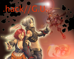.hack G.U. Wallpaper by TorixSkye