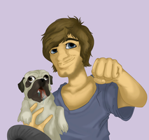 Attempt Of Realistic PewDie by PolisBil