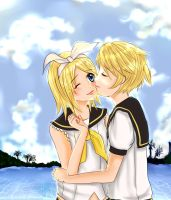 Siblings Love~ Kagamine Len Rin by Edraviciel