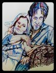 The Moyers in markers by fbforbill