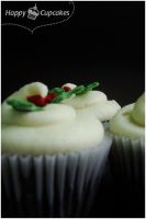 Christmas Cupcakes I by harleshinn