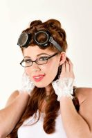 Stacie - Steampunk Pinup 03 by Tsaos