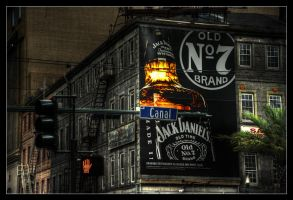 Old No. 7 and Canal by aaronbee