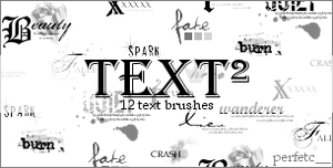 'Text Squared' Brushes by perfetc