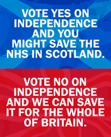 Scottish Independence and the NHS by Party9999999