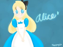 Alice by MegaJennyArt