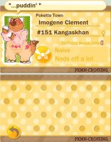 Imogene, PKMN-Crossing Application by sIurpuff