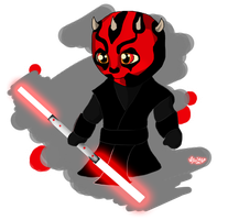Darth Maul by Jedi-Cowgirl