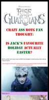 ROTG~Is Jack's favourite holiday actually Easter? by LittleMissSquiggles