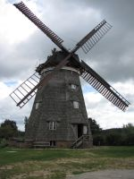 Old Windmill 02 by BmAStock