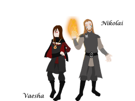 The Draecon Siblings by The-Serene-Mage