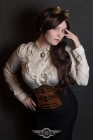 Steampunk corset-belt by Tvirinum