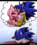 Sonic ~dream about the future by Klaudy-na