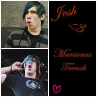 Marianas Trench: Josh by BloodBurns