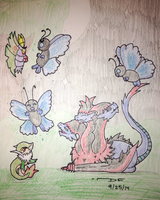 PKMNation:: Rarity Butterfree! (W.4-M.1) by Dianamond