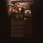 World of Warcraft Layout by DataBase379