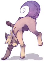 This Is Such A Weird Pose For A Dog by RoyaITea
