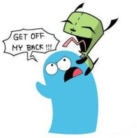 Bloo and Gir by pajamas-gir