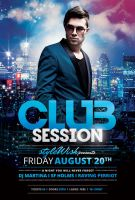 Club Session Flyer by styleWish