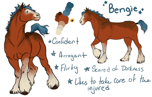 Bengie Reference Sheet by Pokeaday