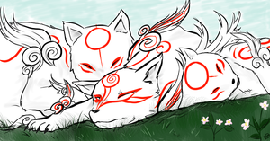 The Okami by Exekyl