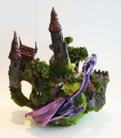 Dragon teapot by richardsymonsart