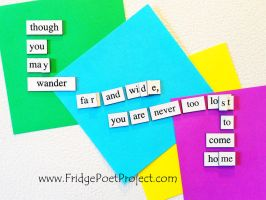 The Daily Magnet #325 by FridgePoetProject