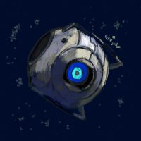Portal 2 Wheatley by VikuGX
