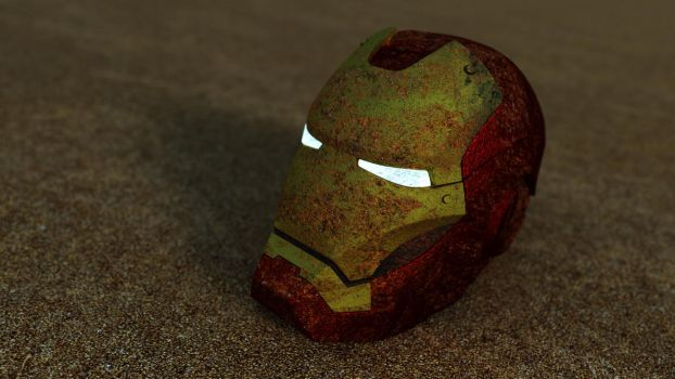Iron Man Helmet by Pharaoh-Hamenthotep
