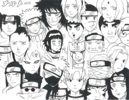 Naruto Collage by CrAzYgOoDpOpTaRt