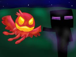 Sphere Doomer VS Enderman by TheCreatorOfSoften