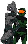 Arby and Chief by Methados