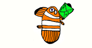 CLOWNFISH CONTACT US ICON IDEA for artseeker1987 by DEVIOUS-DISCORD-RP