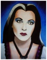 Lily Munster by mikegee777