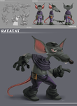 Ratatat Sheet by dwaynebiddixart