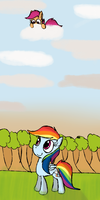 Somewhere Over the Rainbow by Mr-Degration