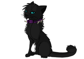 Scourge...Leader of Bloodclan by NikyArtist