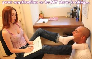 reviewing slave applications... by GirlzRuleOwnFuture