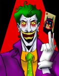 Joker by Kar123 coloring by Me by ChibiCelina