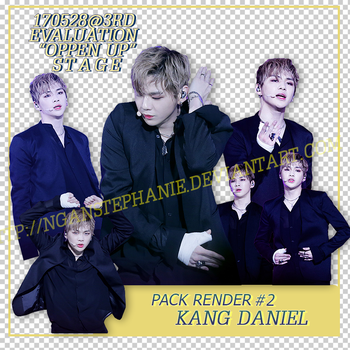 PACK RENDER 02 - KANG DANIEL [Produce101] by nganstephanie