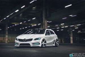 2013 Mercedes Benz A-Class RS55 by Sk1zzo