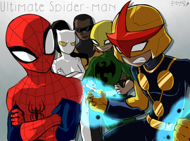 Ultimate Spider-man by sp415