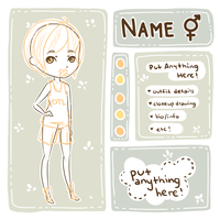 [P2U] Character Ref Template + Base by cowcow-adopts