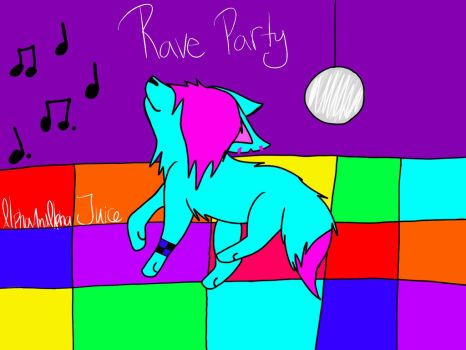 Rave Party by AlphaAndAlphaJuice