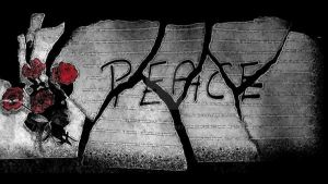 Peace, In Pieces. by Usra